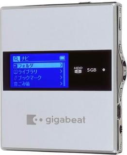 東芝 MP3プレーヤー