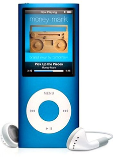 iPod nano (4th generation) (アップル)