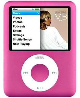 iPod nano (3rd generation) (アップル)