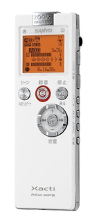 Xacti SOUND RECORDER ICR-PS502RM (三洋電機)