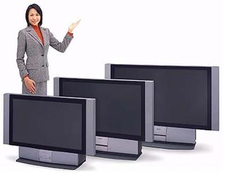 リアプロジェクションテレビ