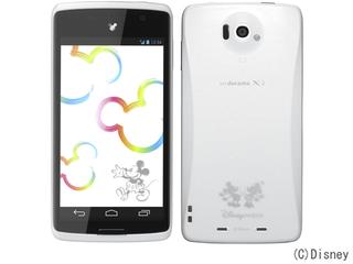 Disney Mobile on docomo N-03E (NECカシオモバイルコミュニケーションズ)