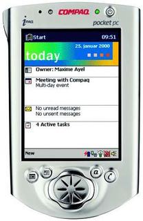 iPAQ Pocket PC H3600 (ヒューレット・パッカード)