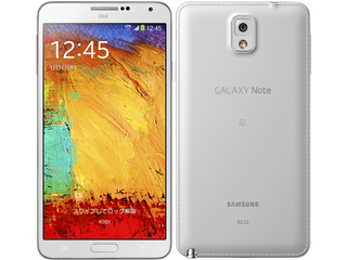 GALAXY Note3 SCL22 (サムスン)